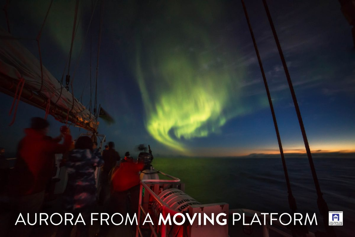 tfttf747 – Aurora From A Moving Platform