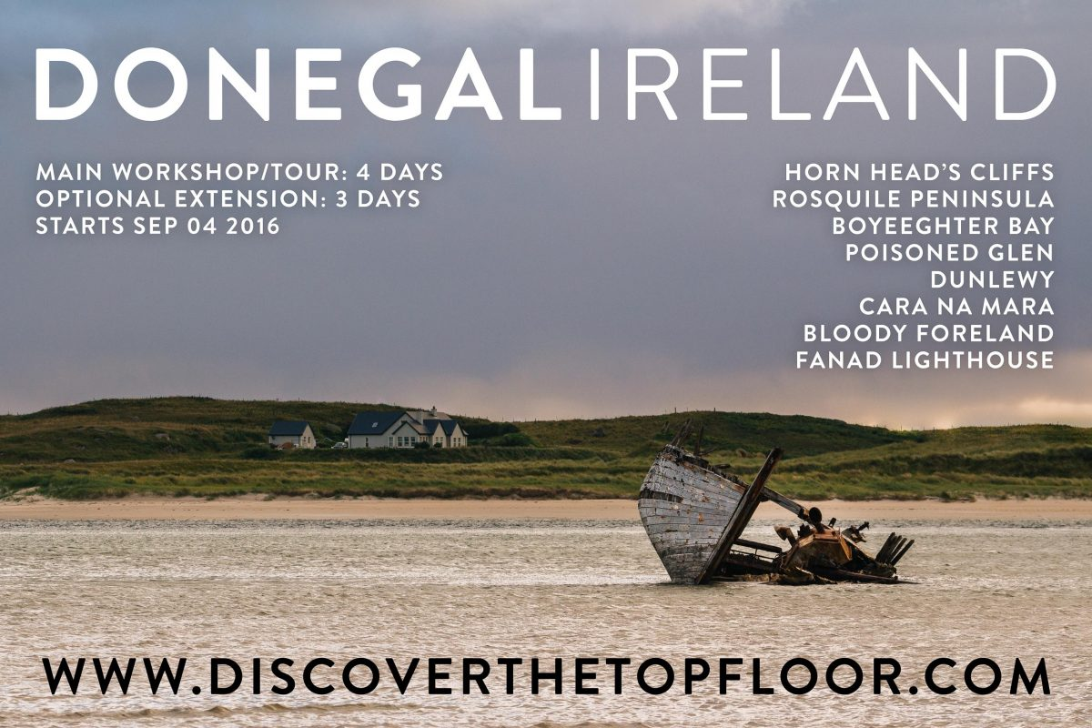 Featured Photo Tour: Donegal 2016