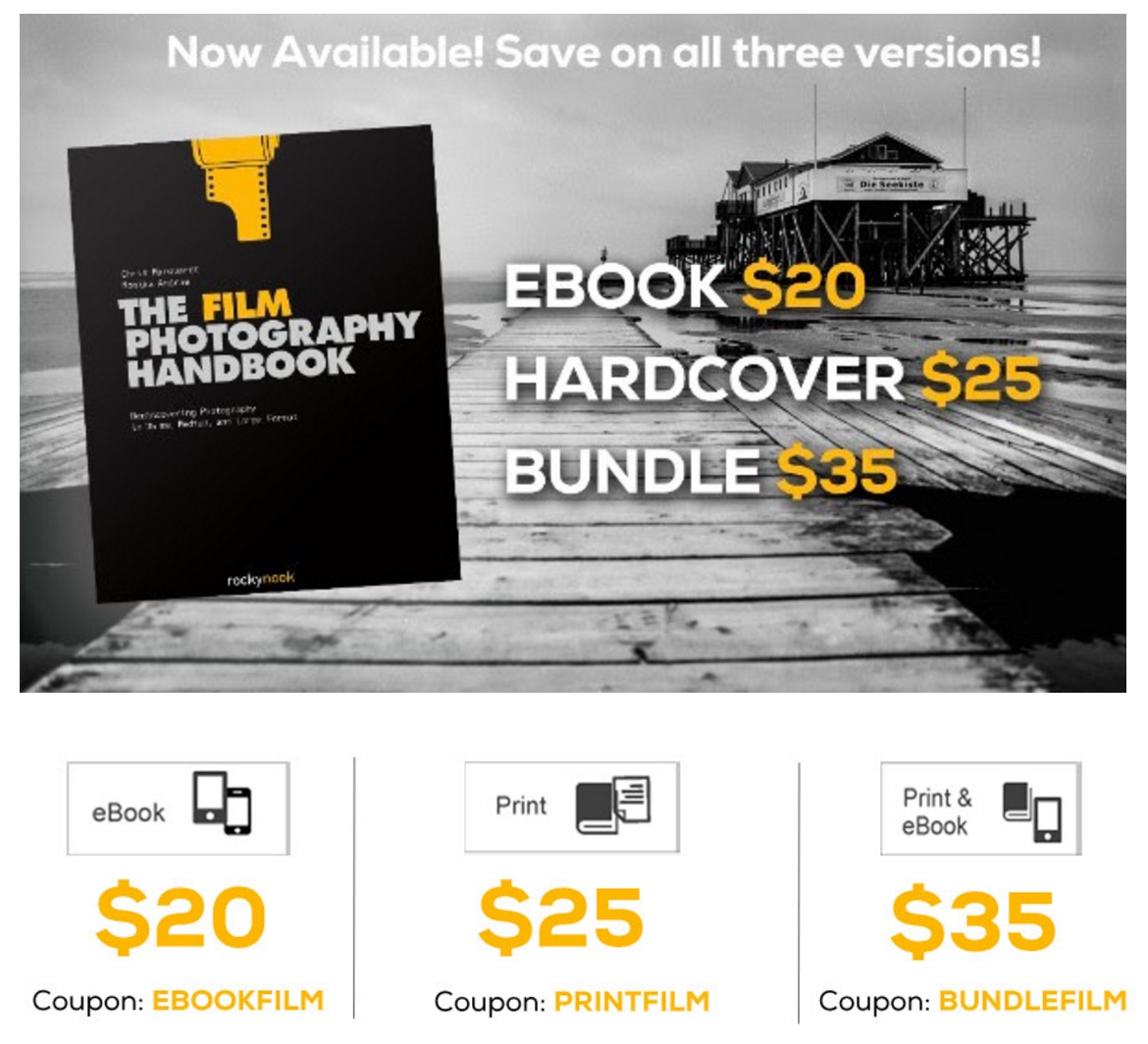 Hardcover: The Film Photography Handbook – Coupon Codes